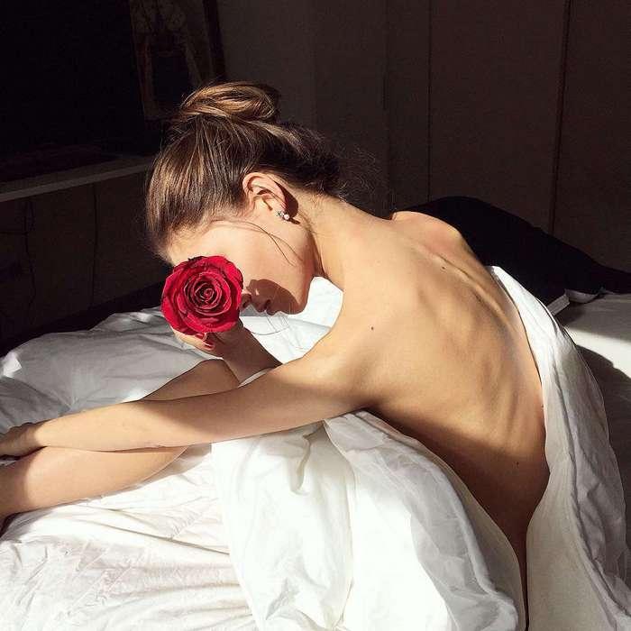 «Привет, анорексия»: модель Алеся Кафельникова на самом деле любит бургеры