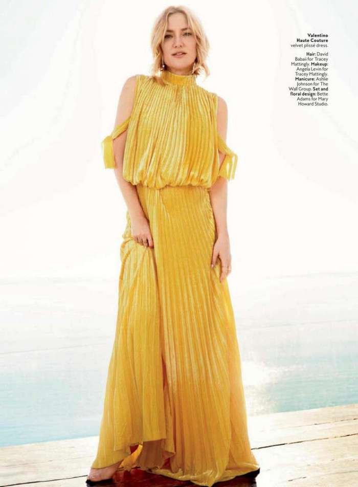 Кейт Хадсон (Kate Hudson) в US InStyle