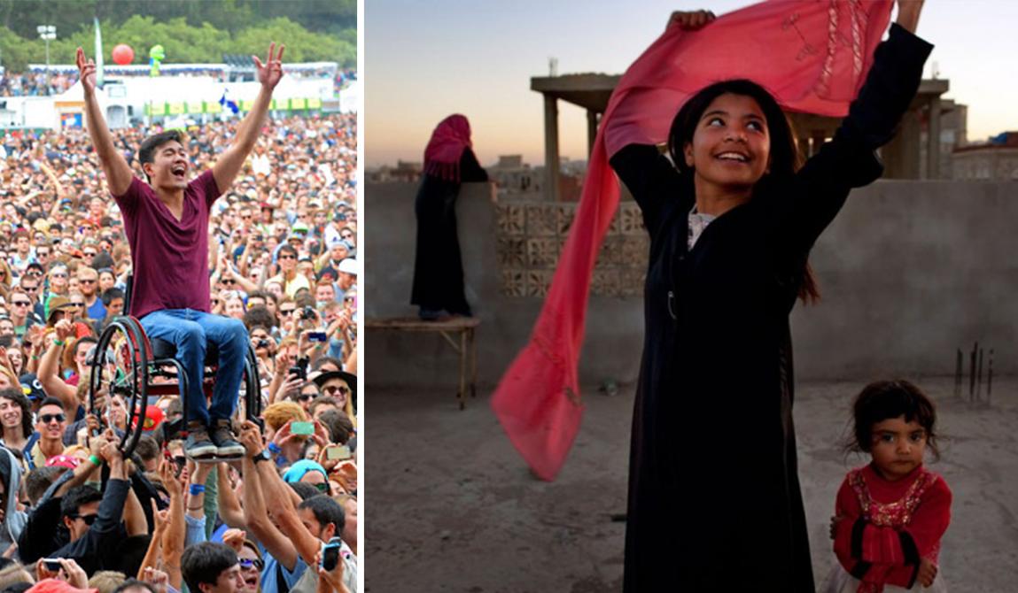 15 фотографий, которые демонстрируют силу человеческого духа