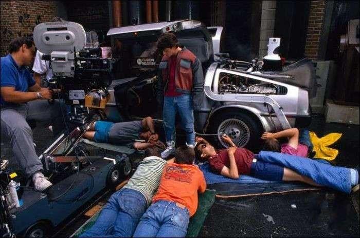 За кулисами Голливуда: кадры со съемок знаменитых фильмов