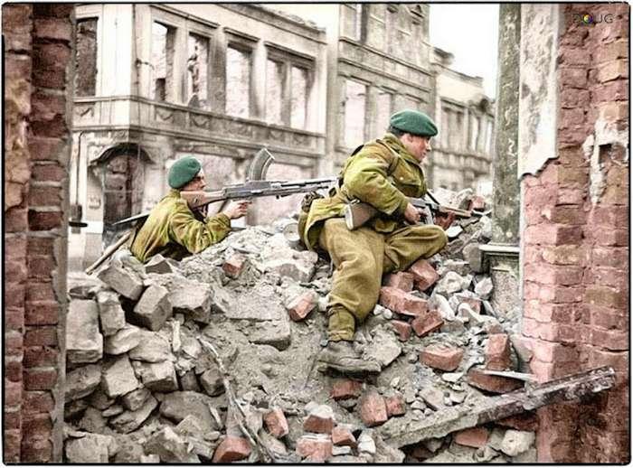 WWII в цвете. Удивительная реалистичность