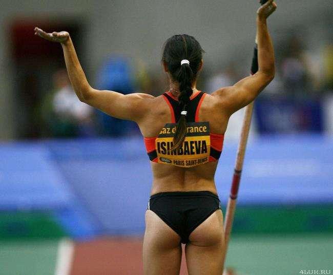 Красота женского спорта
