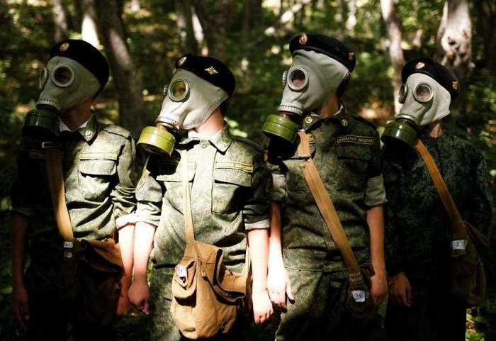 Тактические учения в Кадетской школе имени генерала Ермолова