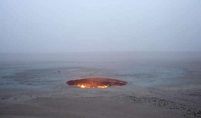 Дарваза: портал в глубины преисподней