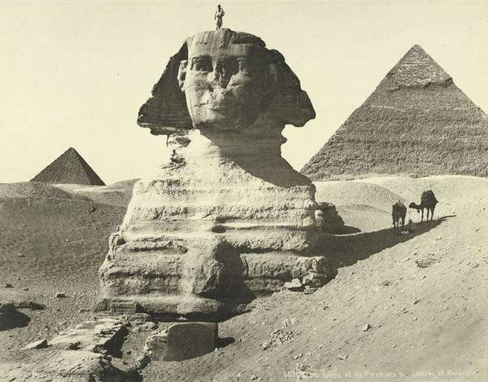 Что с лицом египетского Сфинкса