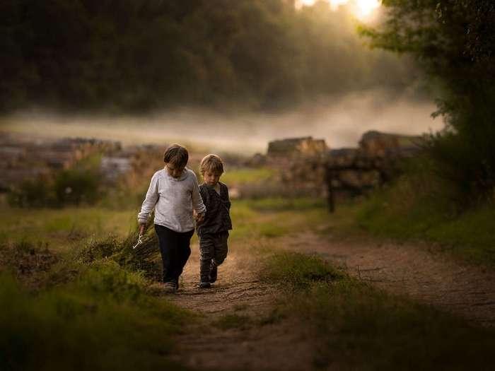 Красивые снимки детства