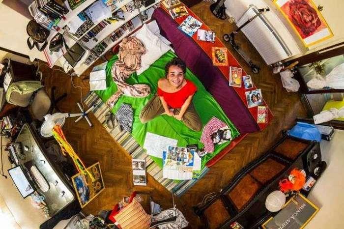 Как отличаются комнаты разных людей по всему миру