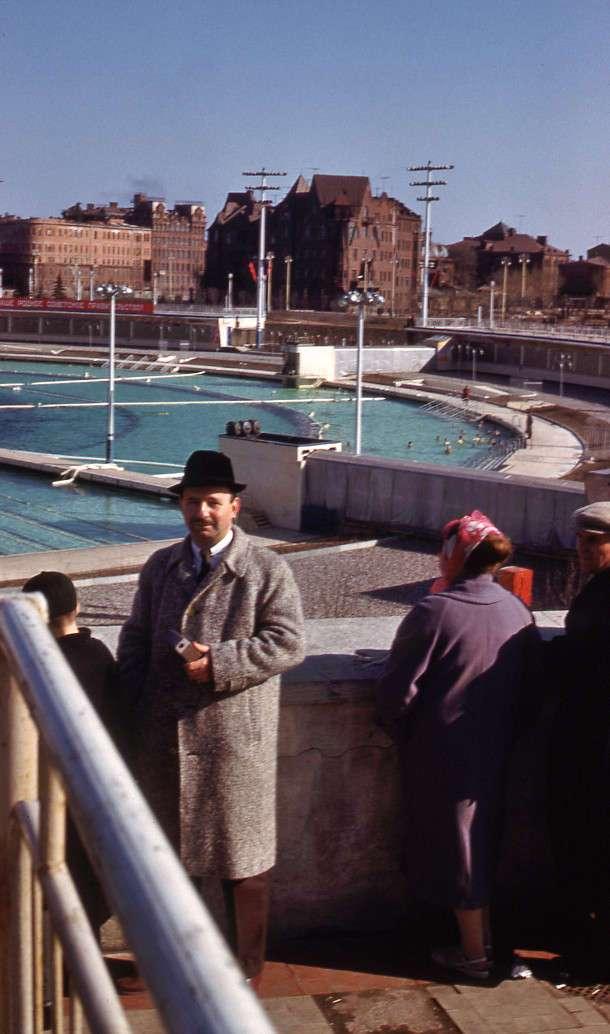 Москва 1961 года в цвете