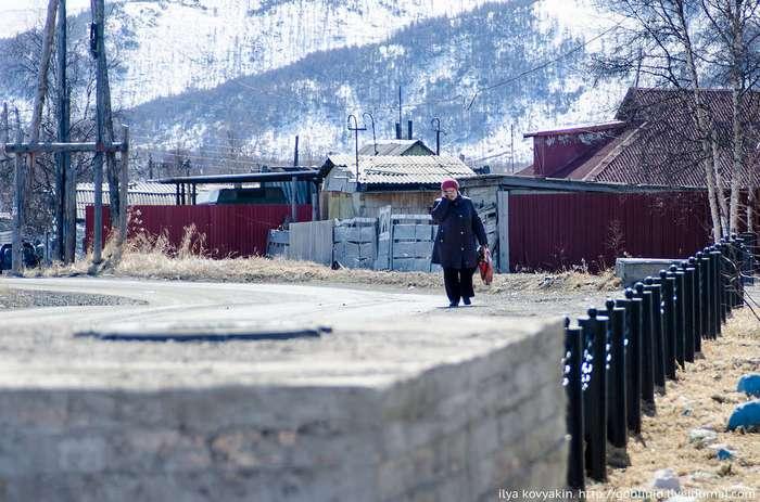 Палатка - поселок в Магаданской области, способный удивить