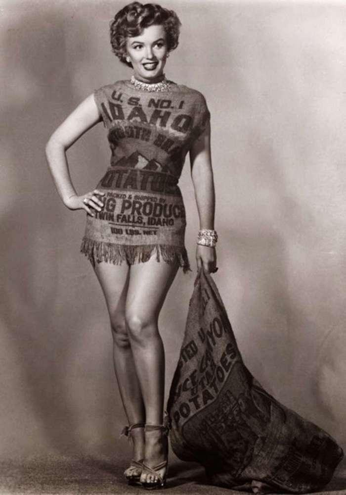 Богиня в картофельном мешке