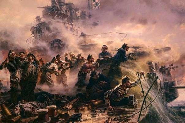 Гордость русских моряков. За спуск Андреевского флага лишали потомства