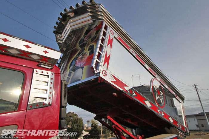 Decotora - тюнинг грузовиков в Японии