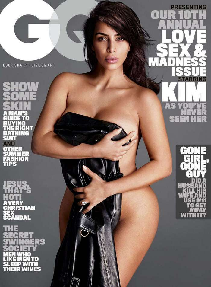Ким Кардашян для GQ Magazine (July 2016)