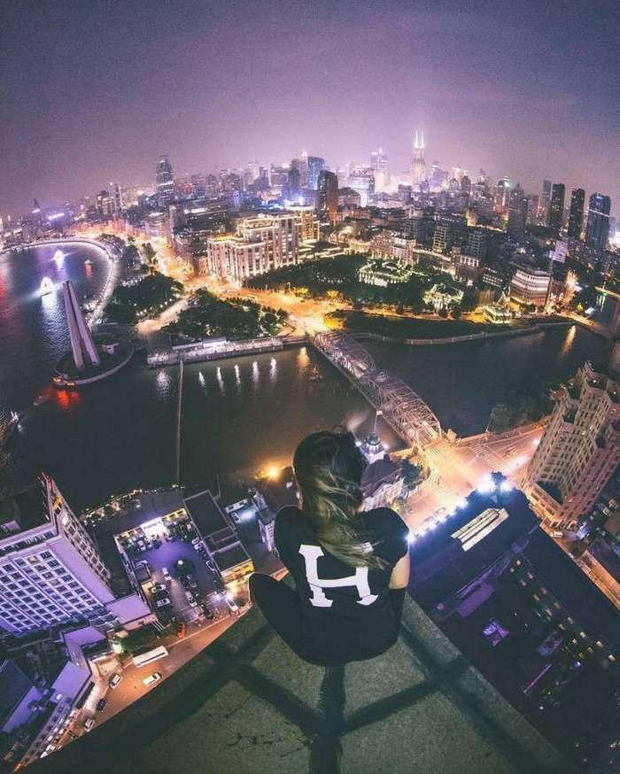 Головокружительные виды: Шанхай c высоты небоскрёбов
