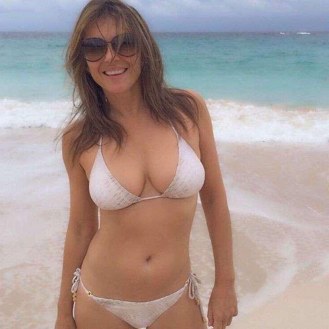 51-летняя Элизабет Херли похвасталась идеальной фигурой в бикини
