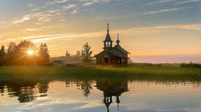 Завораживающие русские пейзажи