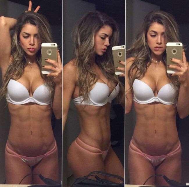 Красивые девушки спортивные