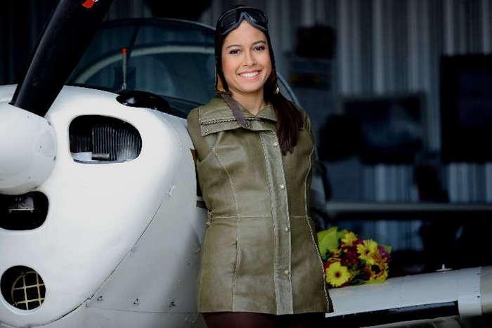 Девушка, рожденная без рук, стала пилотом и попала в Книгу рекордов. Браво!