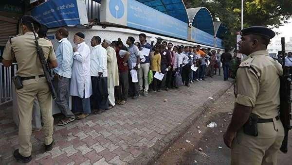 В Индии, в течение трех суток уничтожили теневую экономику