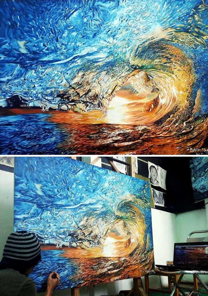 Это не фотография: 50 потрясающих гиперреалистичных картин