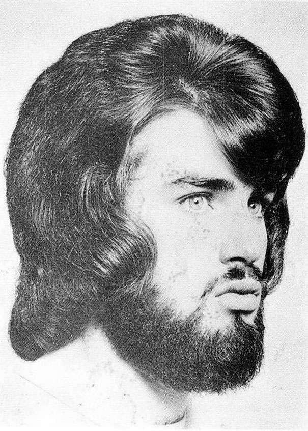 Романтические мужские прически 1960-х и 1970-х годов