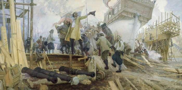 «Потаенное судно» Петра I: Как в России построили первую в мире военную подводную лодку
