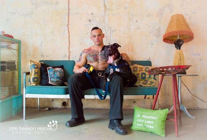 Горячие техасские парни разделись ради бездомных собак из приюта