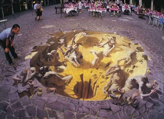 Это удивительное уличное искусство полностью изменит ваше восприятие реальности
