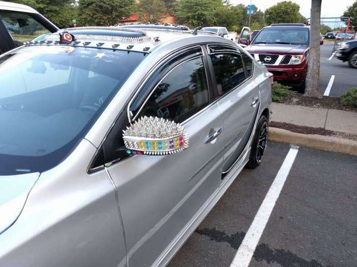 Тюнинг Nissan Sentra в стиле