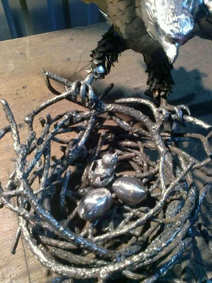 Скульптуры из металла, или что такое руки из правильного места