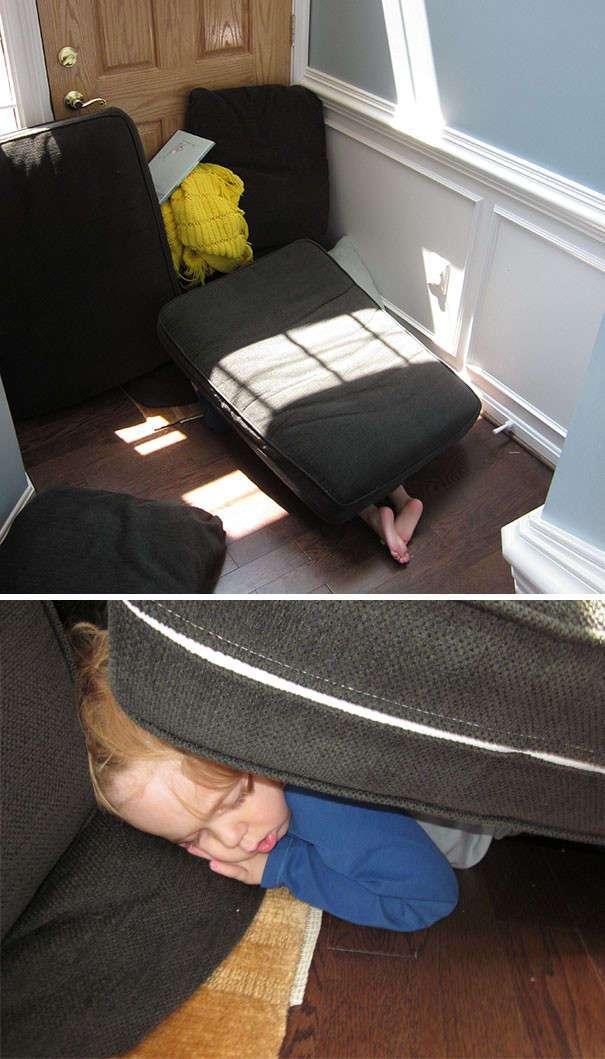 50 забавных доказательств того, что дети могут уснуть где угодно
