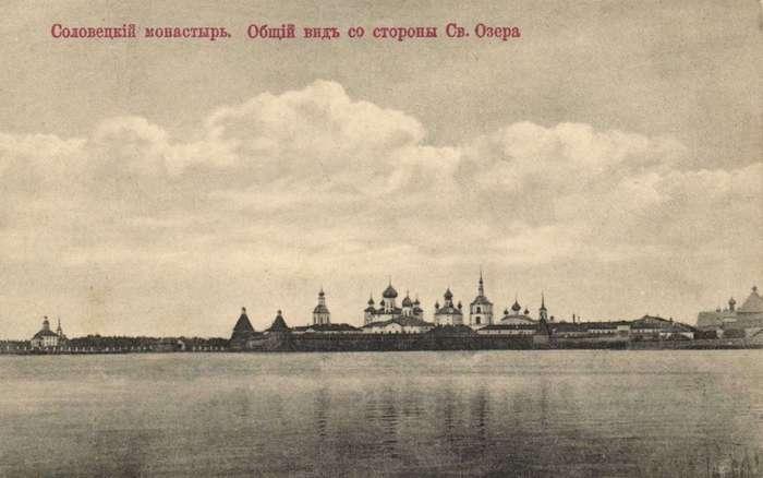 СОЛОВЕЦКАЯ ТЮРЬМА В XVIII ВЕКЕ.