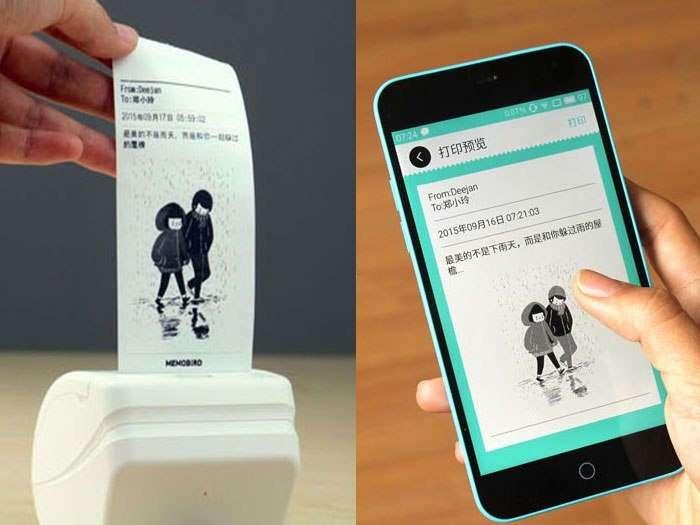Memobird: крошечный принтер для печати с iPhone и Android