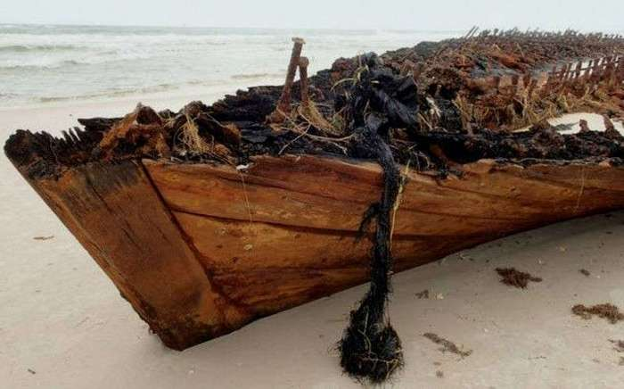 10 удивительных находок, обнаруженных благодаря штормовой погоде