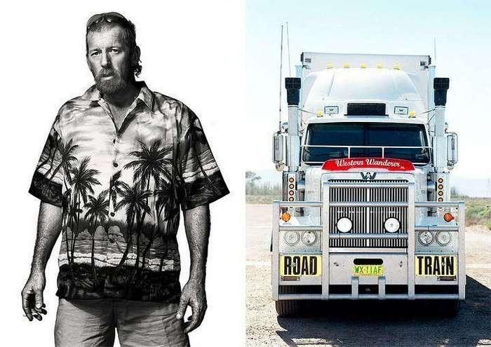 Интересная подборка грузовиков и их водителей