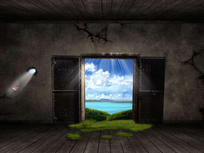 Притча про дверь