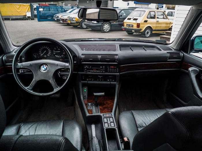 BMW 750iL Highline 1989: Одним словом - Флагман