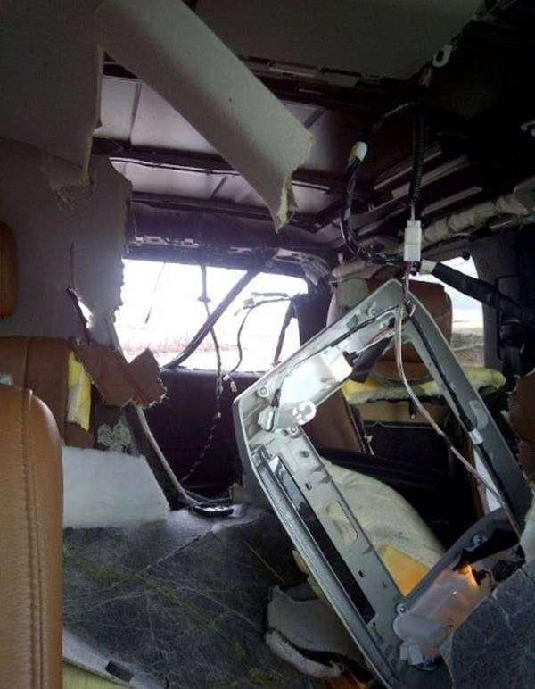 Как годовалая Toyota Sequoia на металлолом отправилась