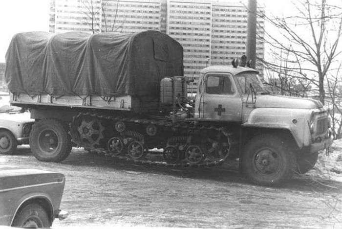 Автомобиль дня: «тракторогаз» БВСМ-80