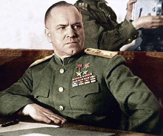 Неизвестный маршал Жуков