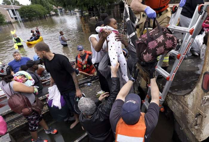 Массовые наводнения в Хьюстоне