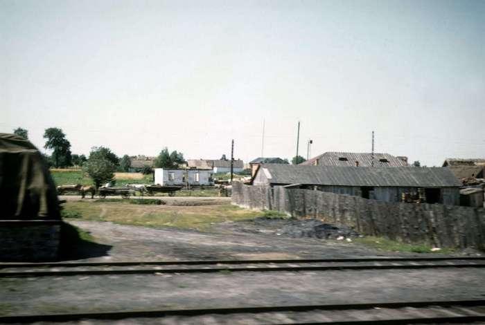 Советская глубинка в объективе Джона Шульца, 1958 год