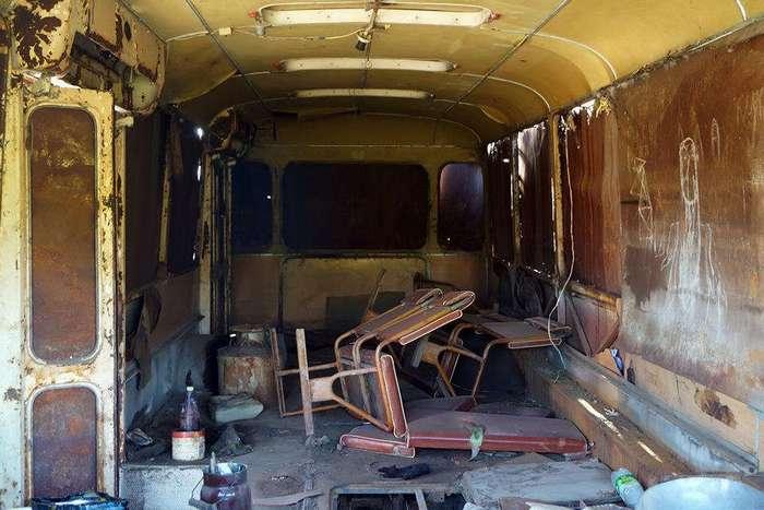 История одного автобуса - КАвЗ 3100