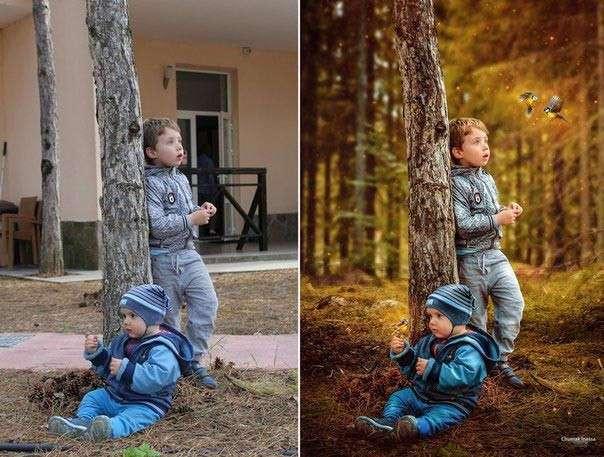 Что подвластно богам Фотошопа: впечатляющие примеры обработанных снимков