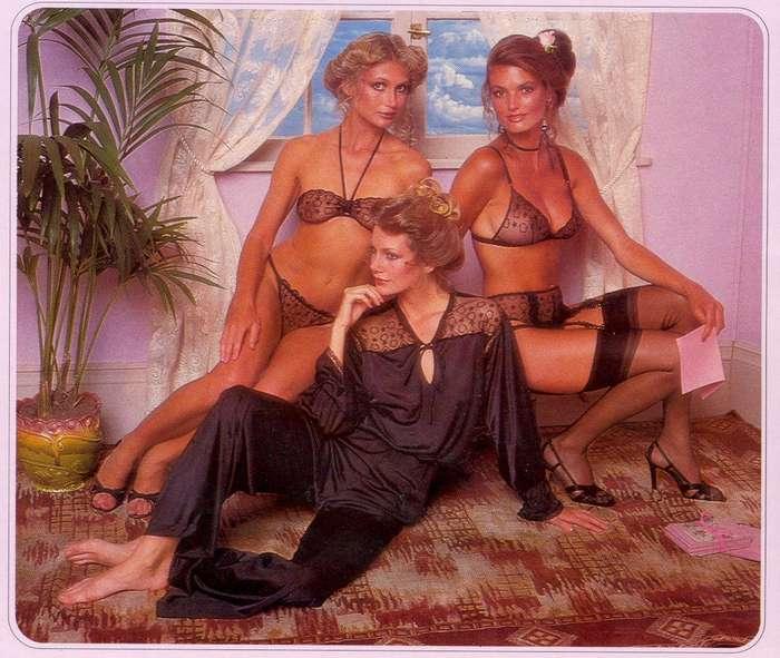 Девушки из каталога Victoria's Secret 1979 года