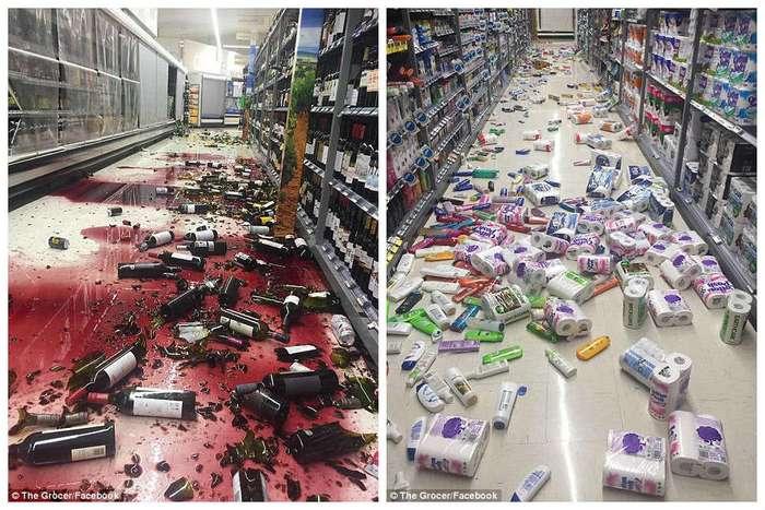 Фотохроника землетрясения в Новой Зеландии