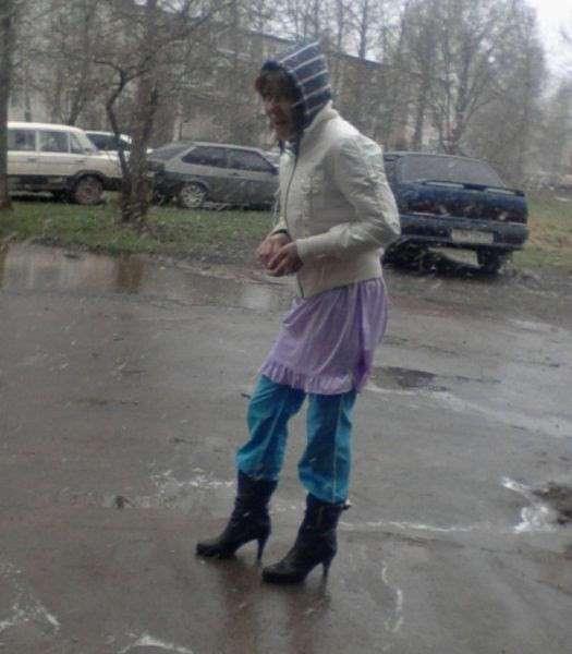 Вне стиля и моды: нелепо одетые люди