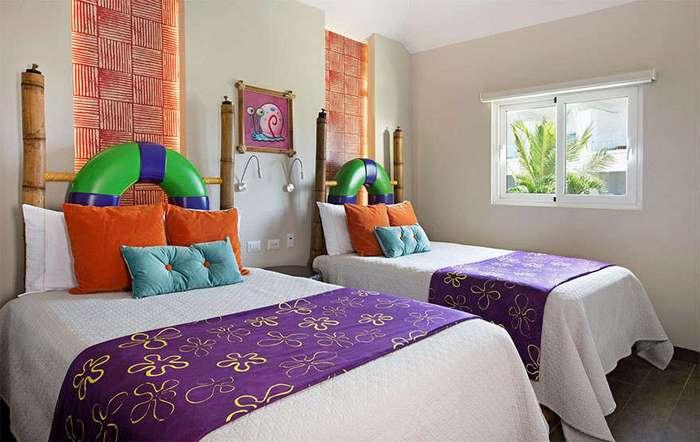 В Пунта-Кане открылся тематический отель для всех поклонников Губки Боба