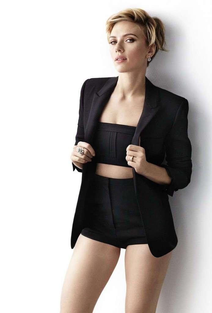 Скарлетт Йоханссон (Scarlett Johansson) для Cosmopolitan