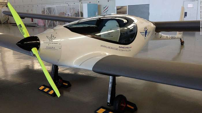 Самолёт на биотопливе и солнечной энергии готов к перелёту через океан